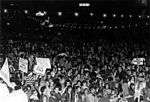 Oct. 1973: Simchat Torah rally in Philadelphia for Soviet Jewry