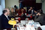 Spring 1991: Shoshana S. Cardin meeting with Va'ad leaders and officials, Moscow